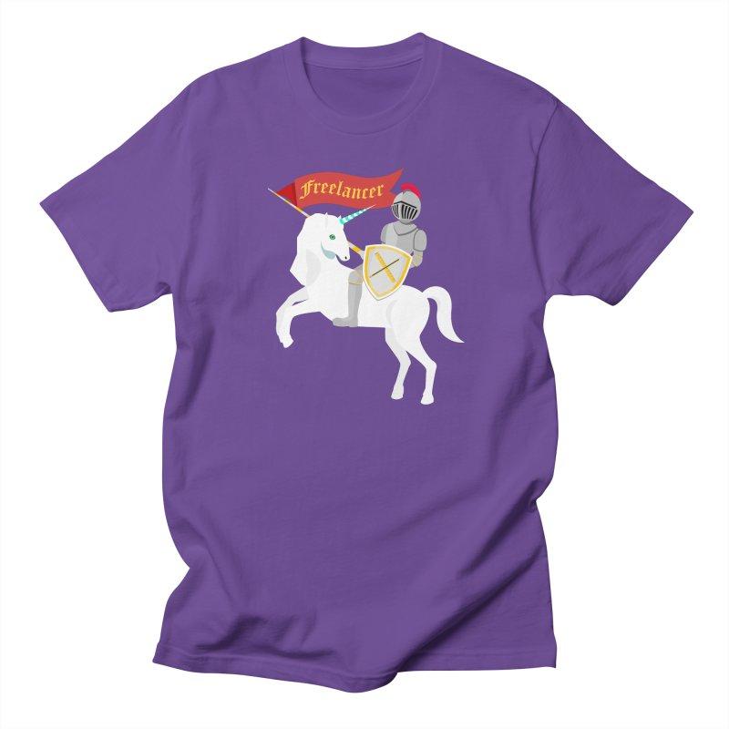 The Freelancer Men's Regular T-Shirt by mintosaur's Artist Shop