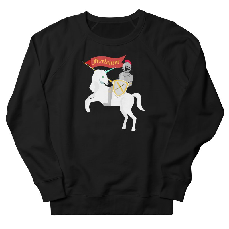 The Freelancer Women's French Terry Sweatshirt by mintosaur's Artist Shop