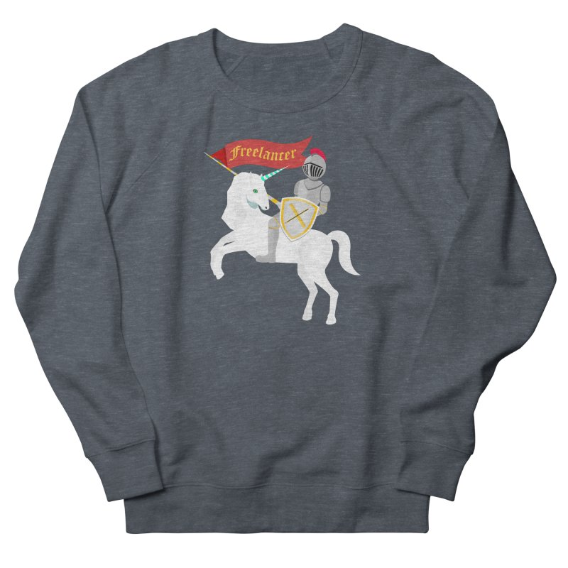 The Freelancer Men's French Terry Sweatshirt by mintosaur's Artist Shop