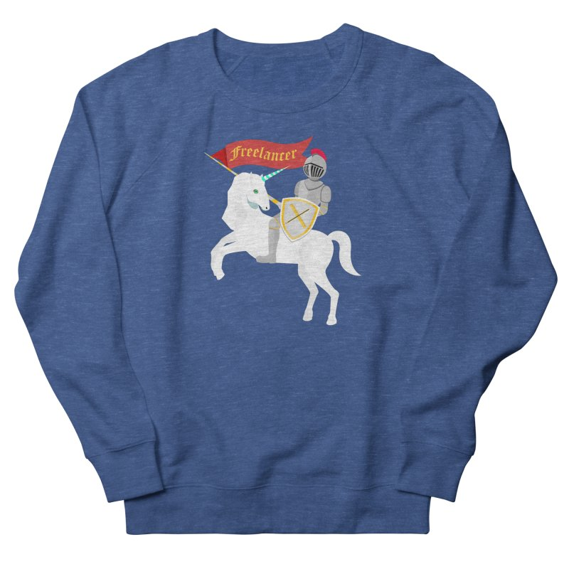 The Freelancer Men's French Terry Sweatshirt by mintosaur's Artist Shop