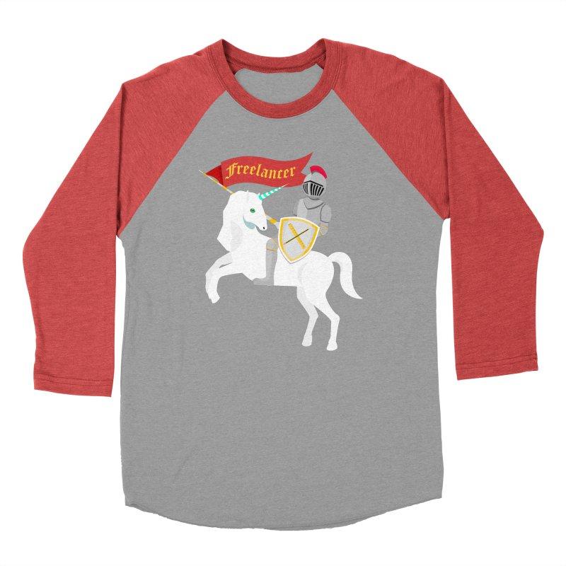 The Freelancer Women's Baseball Triblend T-Shirt by mintosaur's Artist Shop