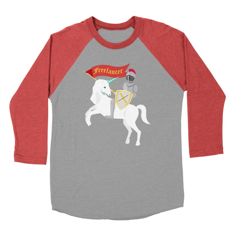 The Freelancer Men's Baseball Triblend Longsleeve T-Shirt by mintosaur's Artist Shop