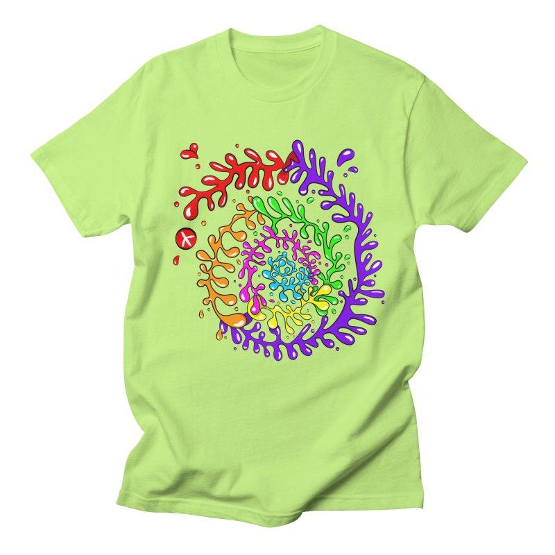 Peace, Love and Tie Dye Women's Regular Unisex T-Shirt by mintosaur's Artist Shop