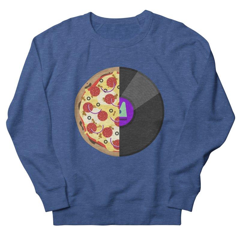 Pizza Record Women's Sweatshirt by mintosaur's Artist Shop