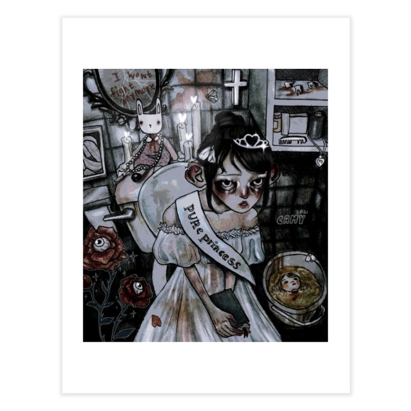 Purity Home Fine Art Print by Minty.Cuts