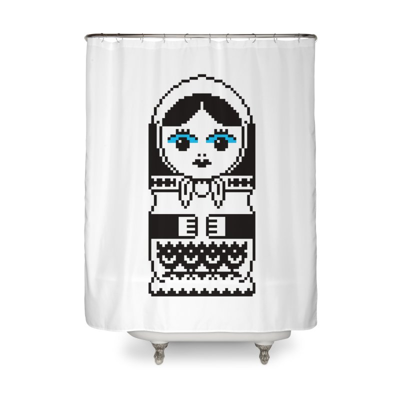 ~MATRYOSHKA.MKV Home Shower Curtain by minusbaby