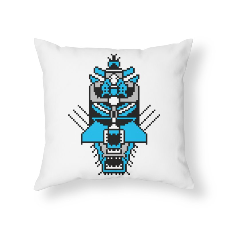 GASH OLEAR (The RAMM:ELL:TEE) Home Throw Pillow by minusbaby