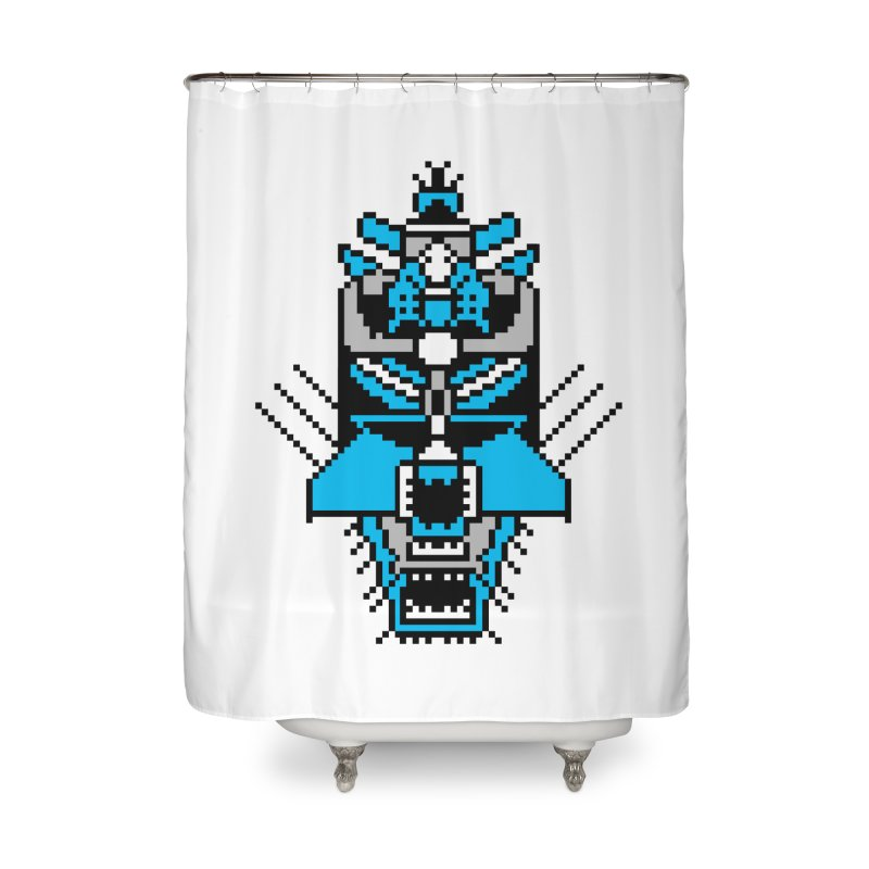 GASH OLEAR (The RAMM:ELL:TEE) Home Shower Curtain by minusbaby