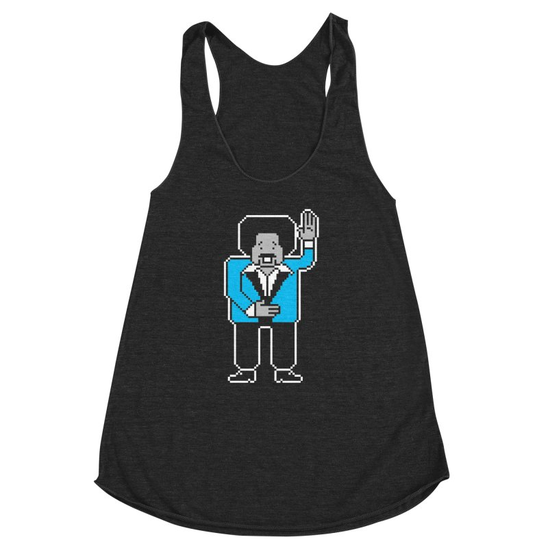 Tim Maia Diskette Club Women's Racerback Triblend Tank by minusbaby
