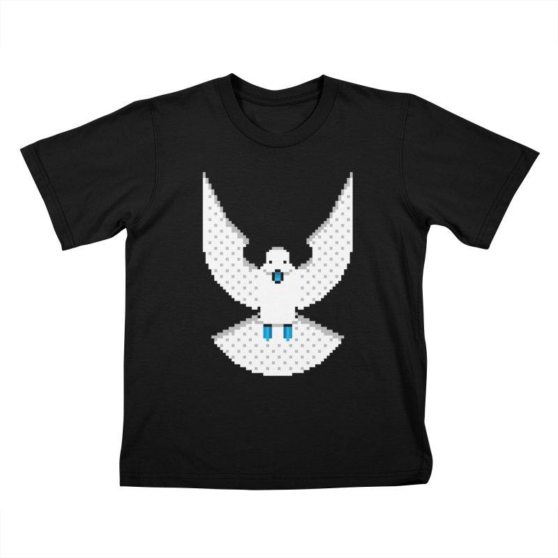 Dove (Joli Cœur) Kids Toddler T-Shirt by minusbaby
