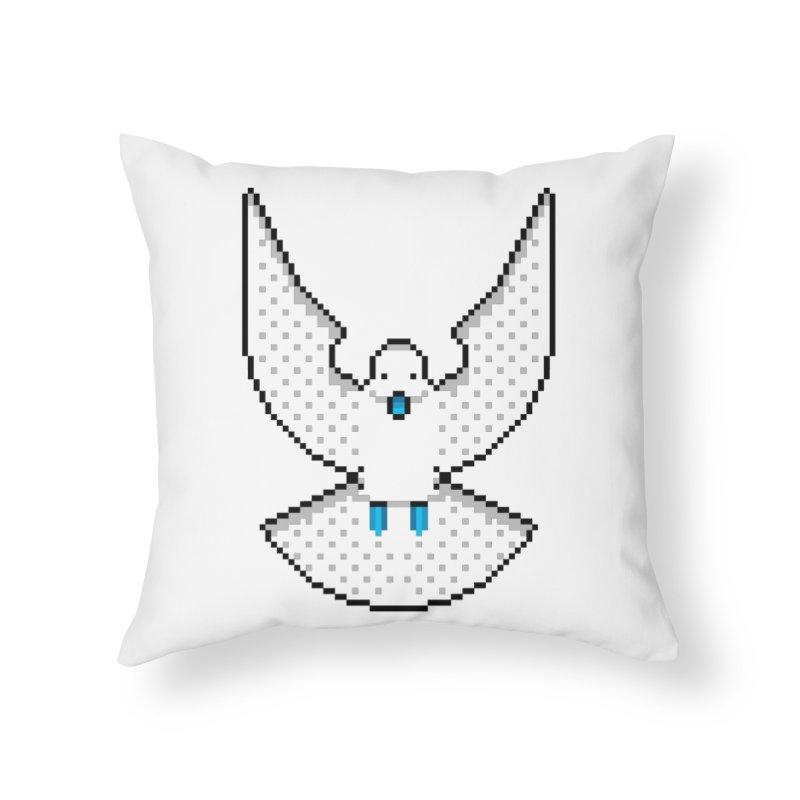 Dove (Joli Cœur) Home Throw Pillow by minusbaby