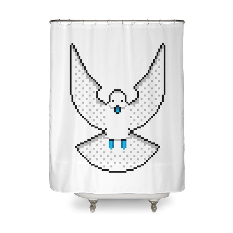 Dove (Joli Cœur) Home Shower Curtain by minusbaby