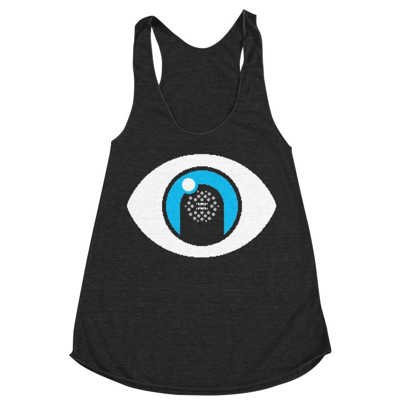 8BP095 Women's Racerback Triblend Tank by minusbaby