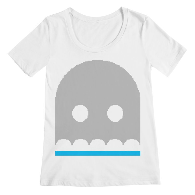 Ghost Women's Regular Scoop Neck by minusbaby