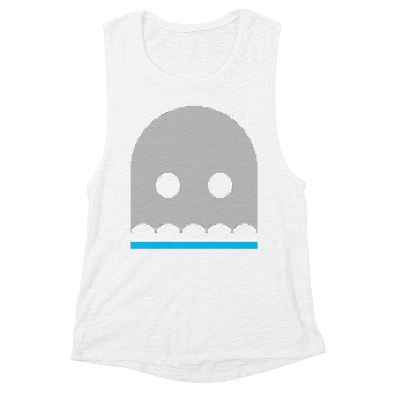 Ghost Women's Muscle Tank by minusbaby