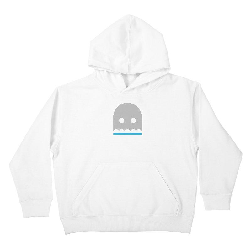 Ghost Kids Pullover Hoody by minusbaby