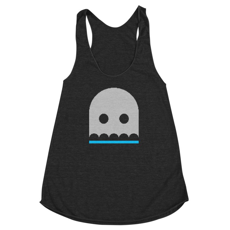 Ghost Women's Racerback Triblend Tank by minusbaby