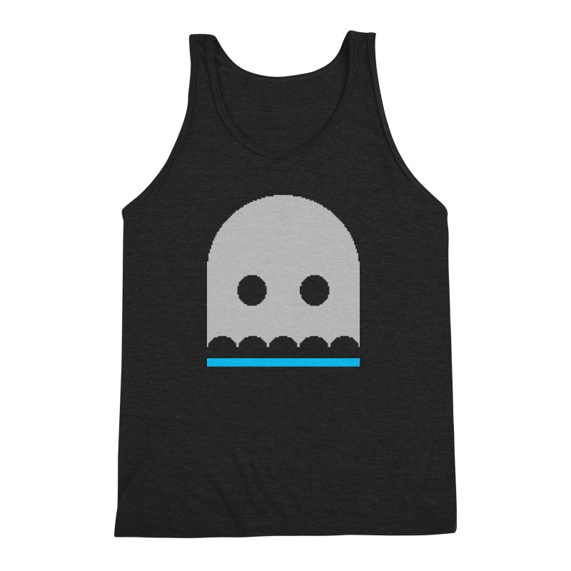 Ghost Men's Triblend Tank by minusbaby