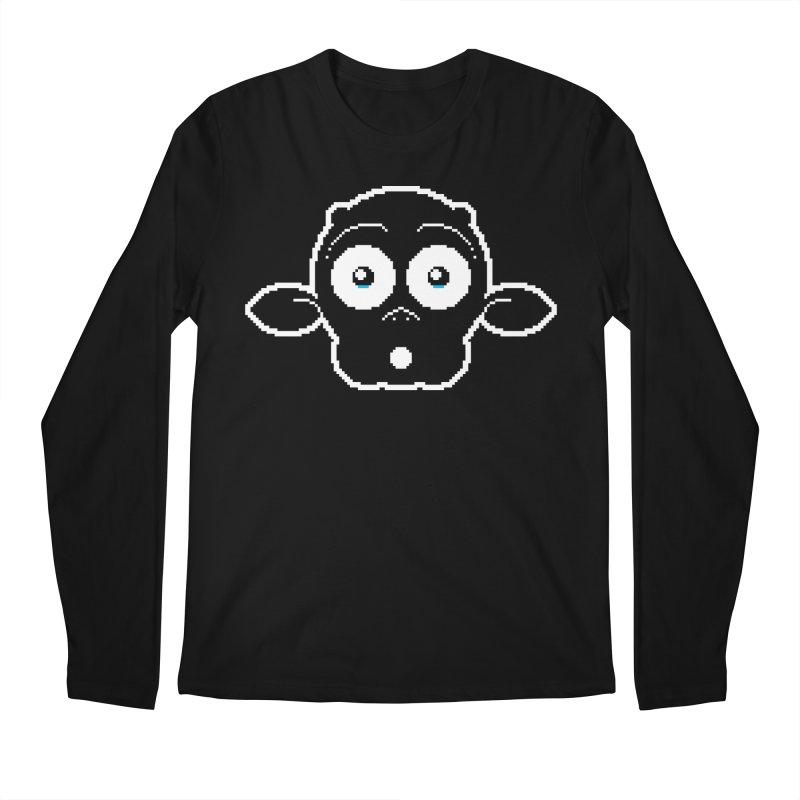 8-bit MAC* Men's Regular Longsleeve T-Shirt by minusbaby