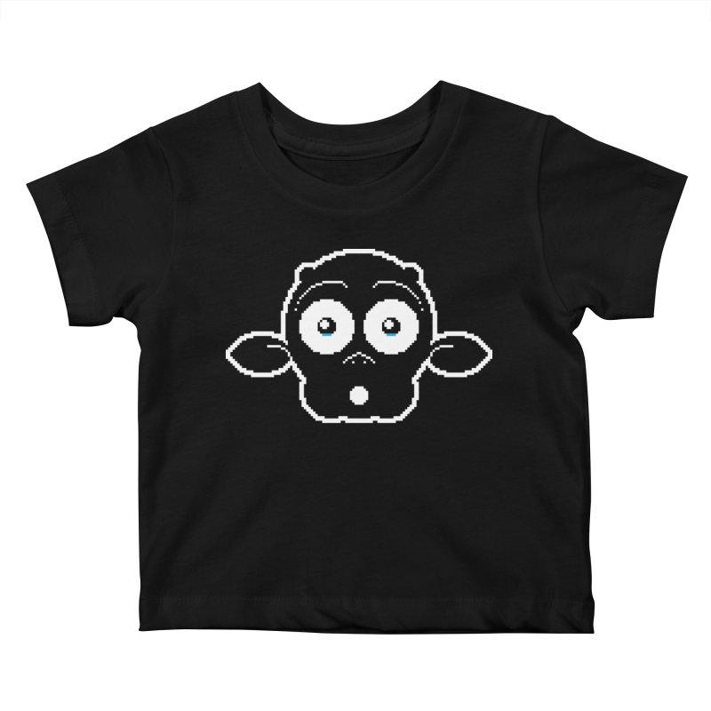 8-bit MAC* Kids Baby T-Shirt by minusbaby