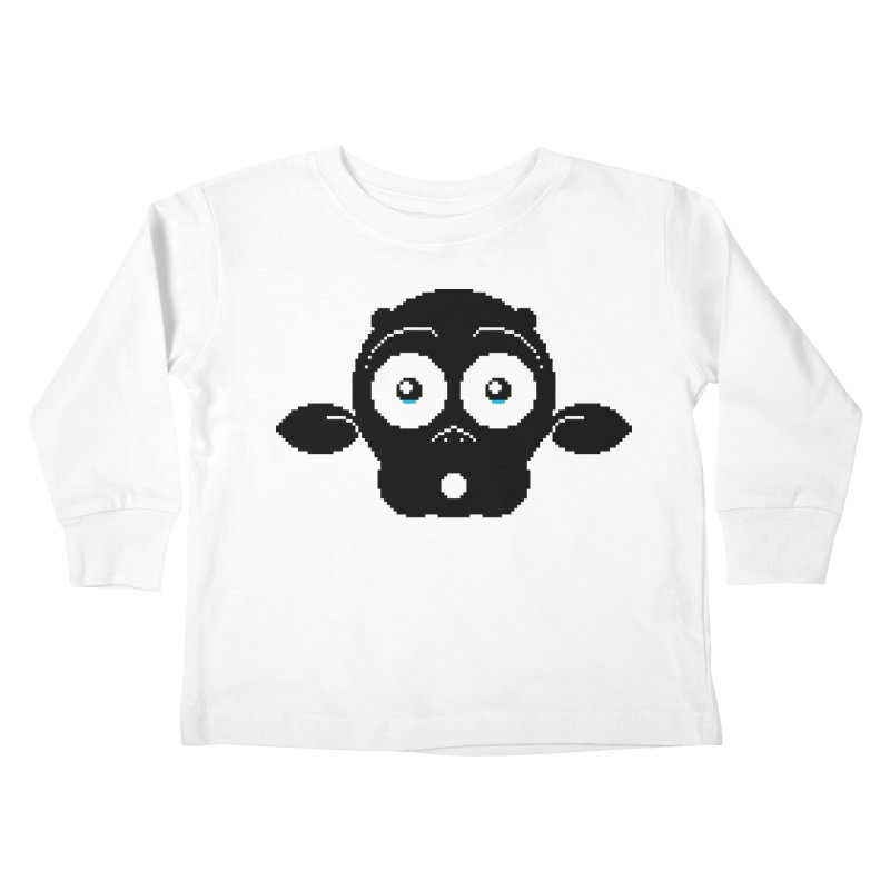 8-bit MAC* Kids Toddler Longsleeve T-Shirt by minusbaby