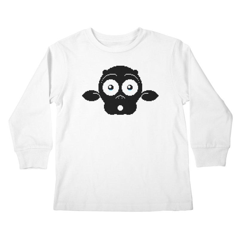 8-bit MAC* Kids Longsleeve T-Shirt by minusbaby