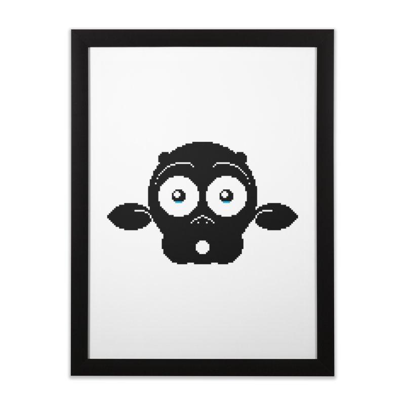8-bit MAC* Home Framed Fine Art Print by minusbaby