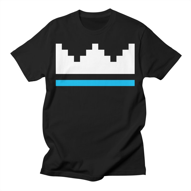 Royal Blue Men's T-Shirt by minusbaby