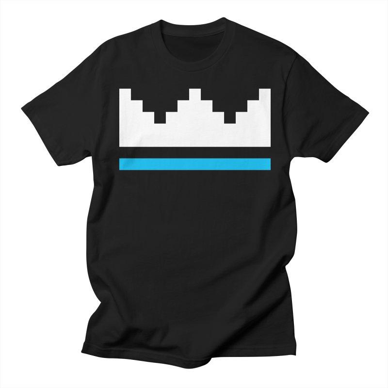 Royal Blue Men's Regular T-Shirt by minusbaby