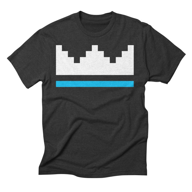 Royal Blue Men's Triblend T-Shirt by minusbaby