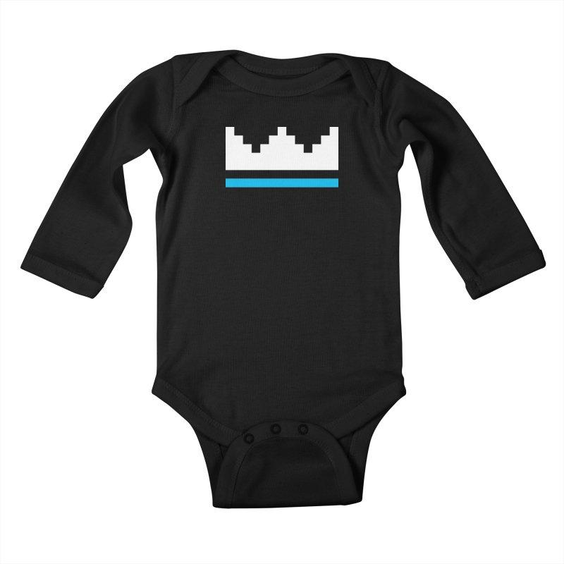 Royal Blue Kids Baby Longsleeve Bodysuit by minusbaby