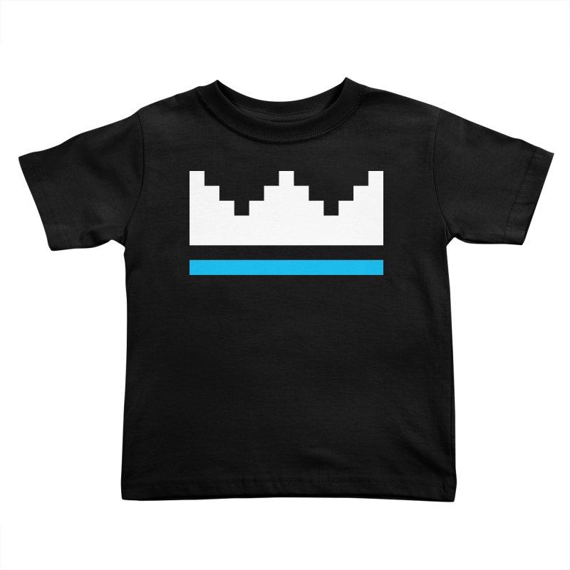 Royal Blue Kids Toddler T-Shirt by minusbaby