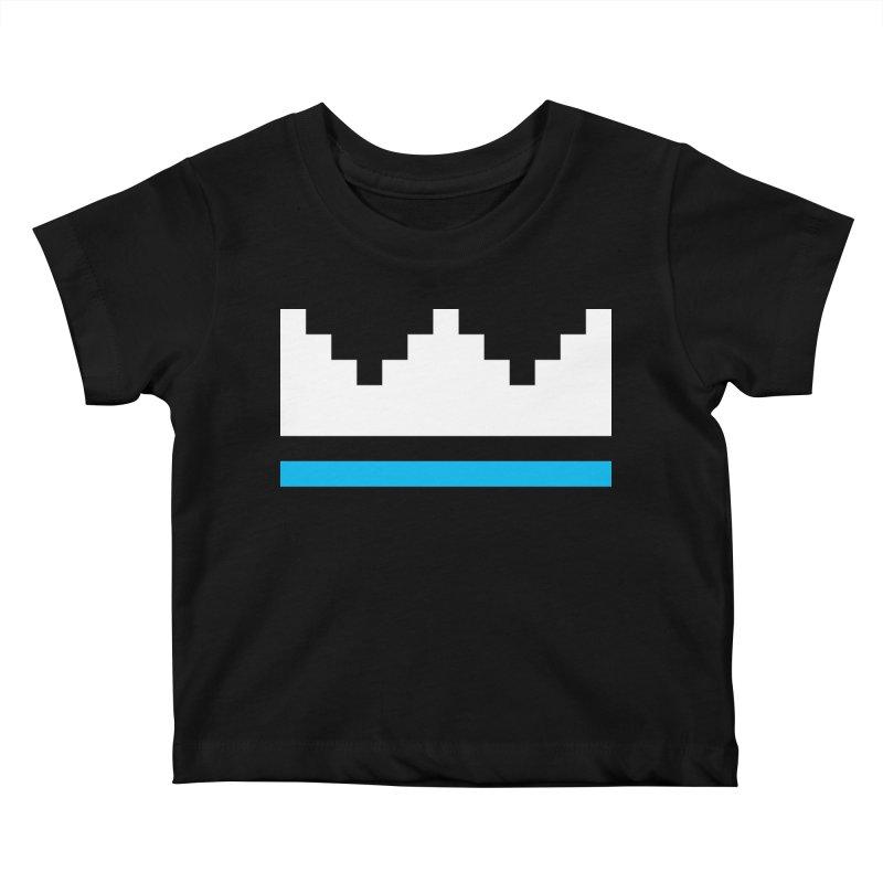Royal Blue Kids Baby T-Shirt by minusbaby