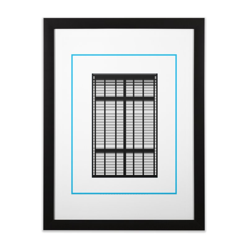 Windows/Gates/Blue Screen Home Framed Fine Art Print by minusbaby