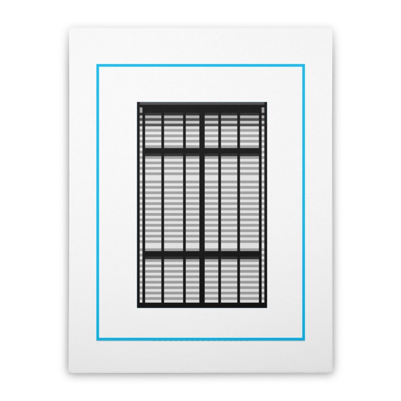 Windows/Gates/Blue Screen Home Stretched Canvas by minusbaby