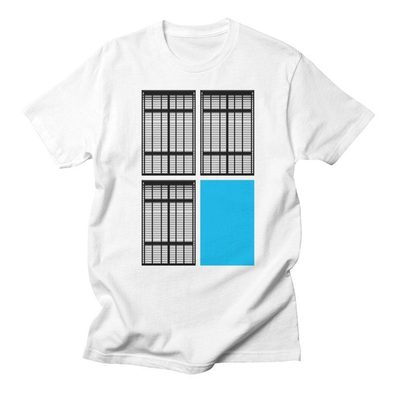 Windows/Gates/Blue Screen Men's Regular T-Shirt by minusbaby