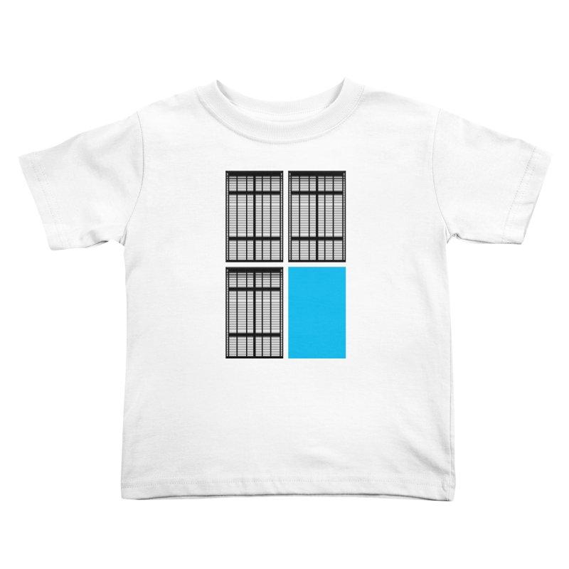 Windows/Gates/Blue Screen Kids Toddler T-Shirt by minusbaby