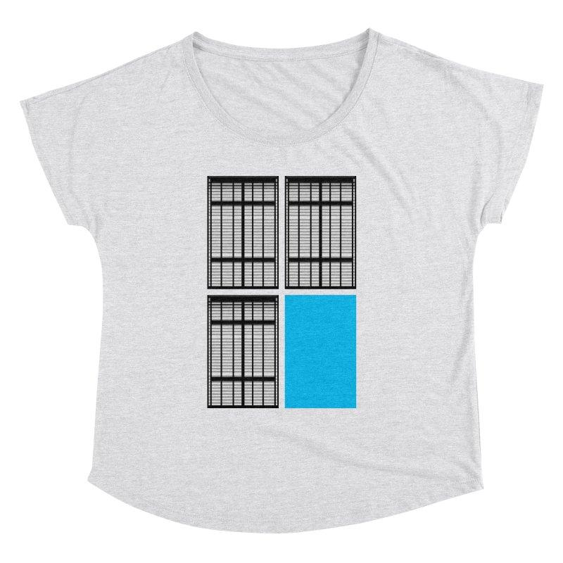 Windows/Gates/Blue Screen Women's Dolman Scoop Neck by minusbaby