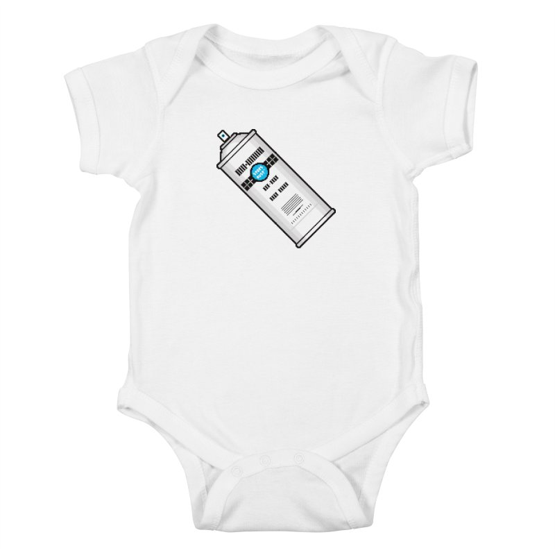 Shake, Rattle and GTFO Kids Baby Bodysuit by minusbaby