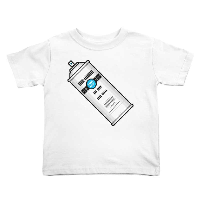 Shake, Rattle and GTFO Kids Toddler T-Shirt by minusbaby