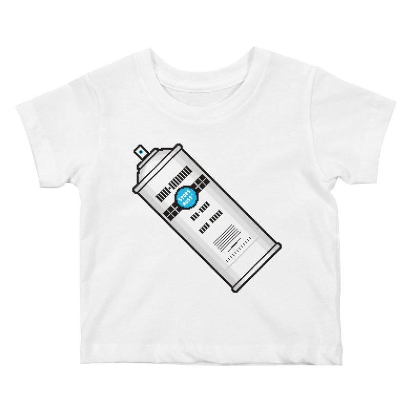 Shake, Rattle and GTFO Kids Baby T-Shirt by minusbaby