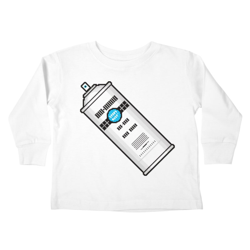 Shake, Rattle and GTFO Kids Toddler Longsleeve T-Shirt by minusbaby