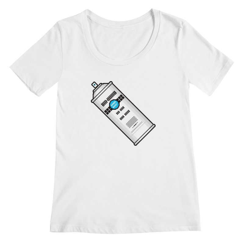 Shake, Rattle and GTFO Women's Scoopneck by minusbaby