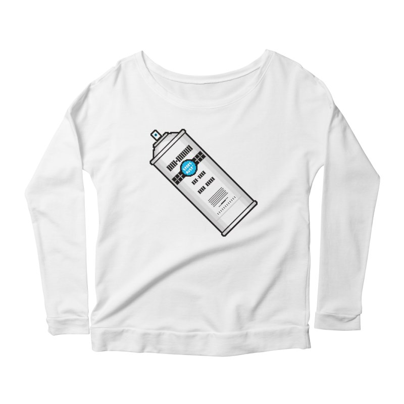 Shake, Rattle and GTFO Women's Longsleeve Scoopneck  by minusbaby