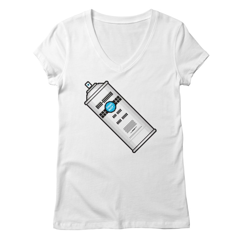 Shake, Rattle and GTFO Women's Regular V-Neck by minusbaby