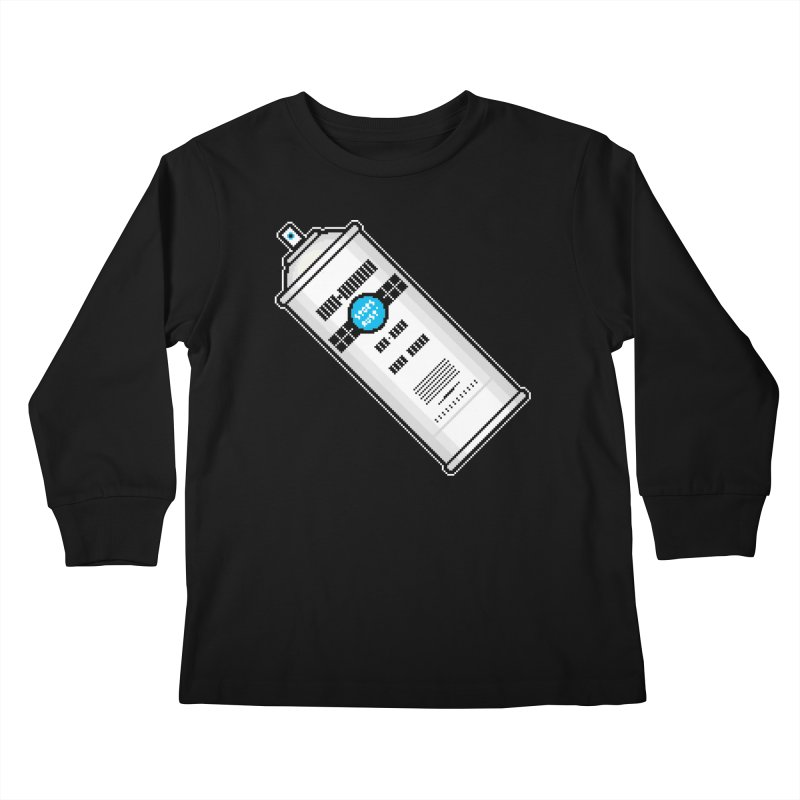 Shake, Rattle and GTFO Kids Longsleeve T-Shirt by minusbaby