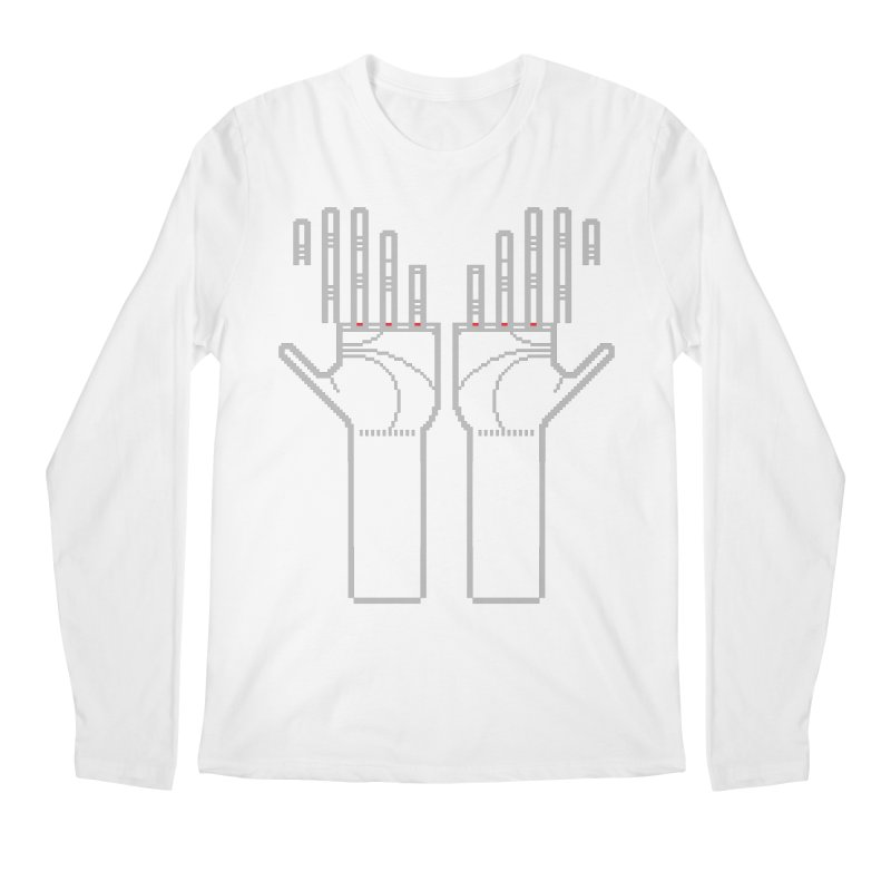 Hands (Mano a Mão) [Nullsleep Limited Edition] Men's Regular Longsleeve T-Shirt by minusbaby
