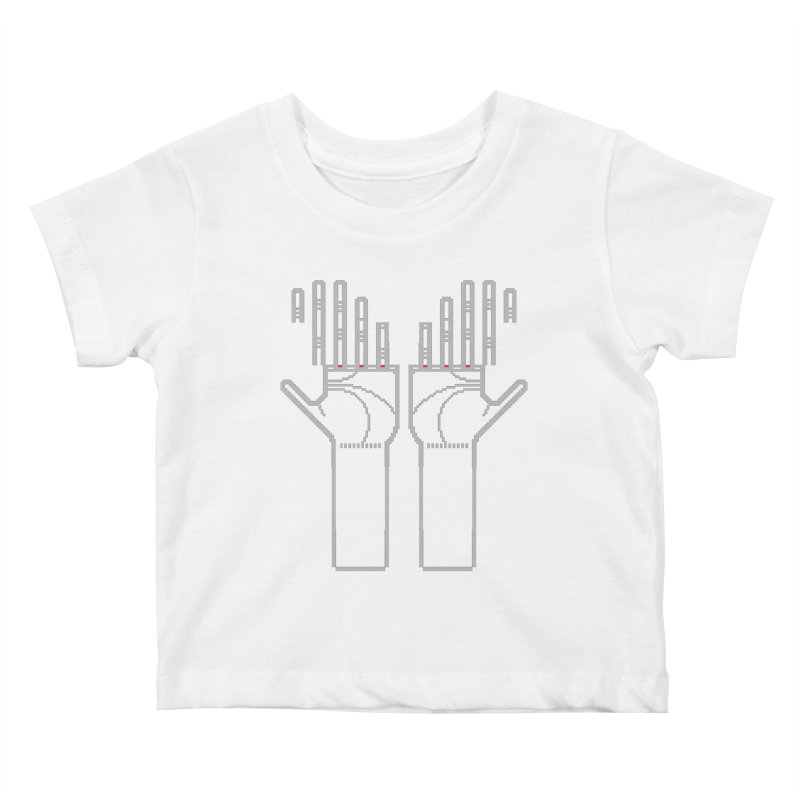 Hands (Mano a Mão) [Nullsleep Limited Edition] Kids Baby T-Shirt by minusbaby