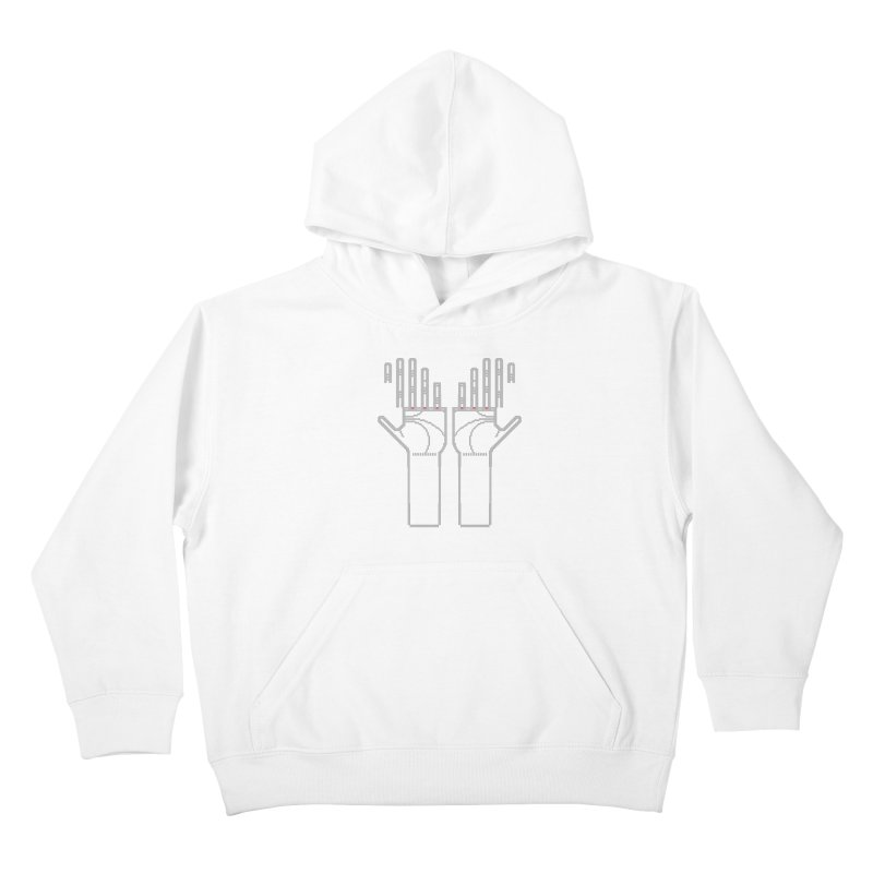 Hands (Mano a Mão) [Nullsleep Limited Edition] Kids Pullover Hoody by minusbaby