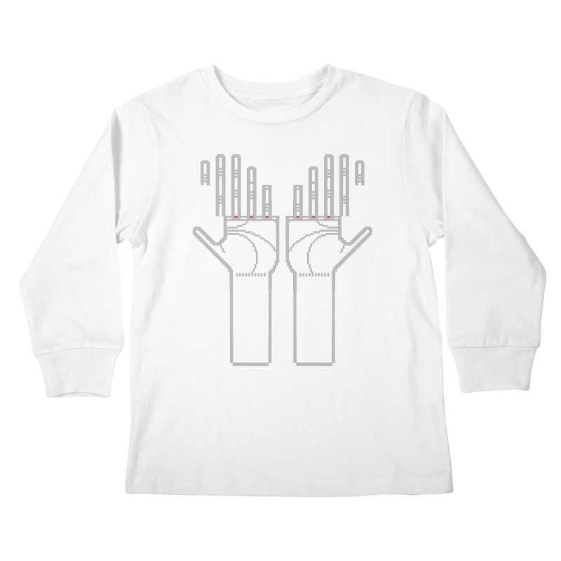 Hands (Mano a Mão) [Nullsleep Limited Edition] Kids Longsleeve T-Shirt by minusbaby